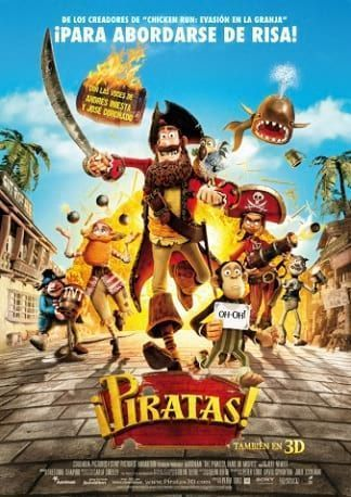 ¡Piratas! (The Pirates! In an Adventure with Scientists!)