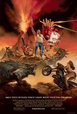 Aqua Teen Hunger Force Colon Movie Film for Theaters