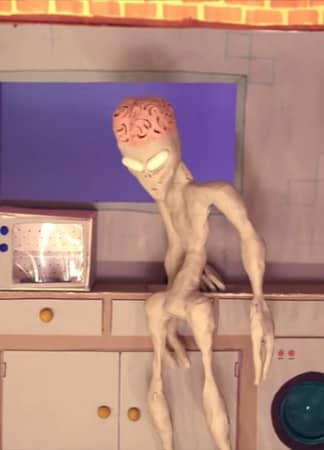 Aliens Put Baby In Microwave